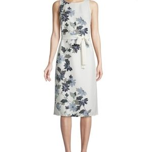 New VINCE CAMUTO Floral Midi Dress